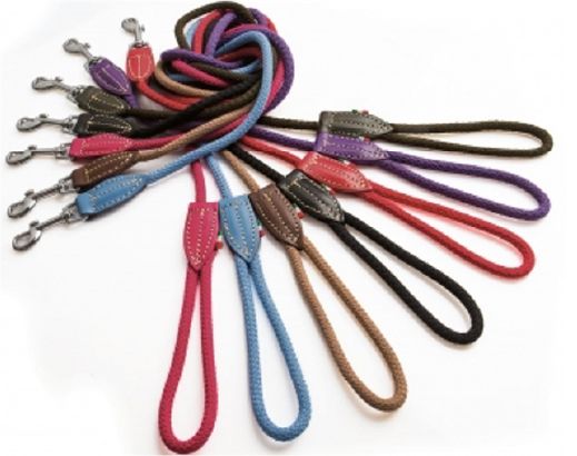 Bianca cotton rope collar